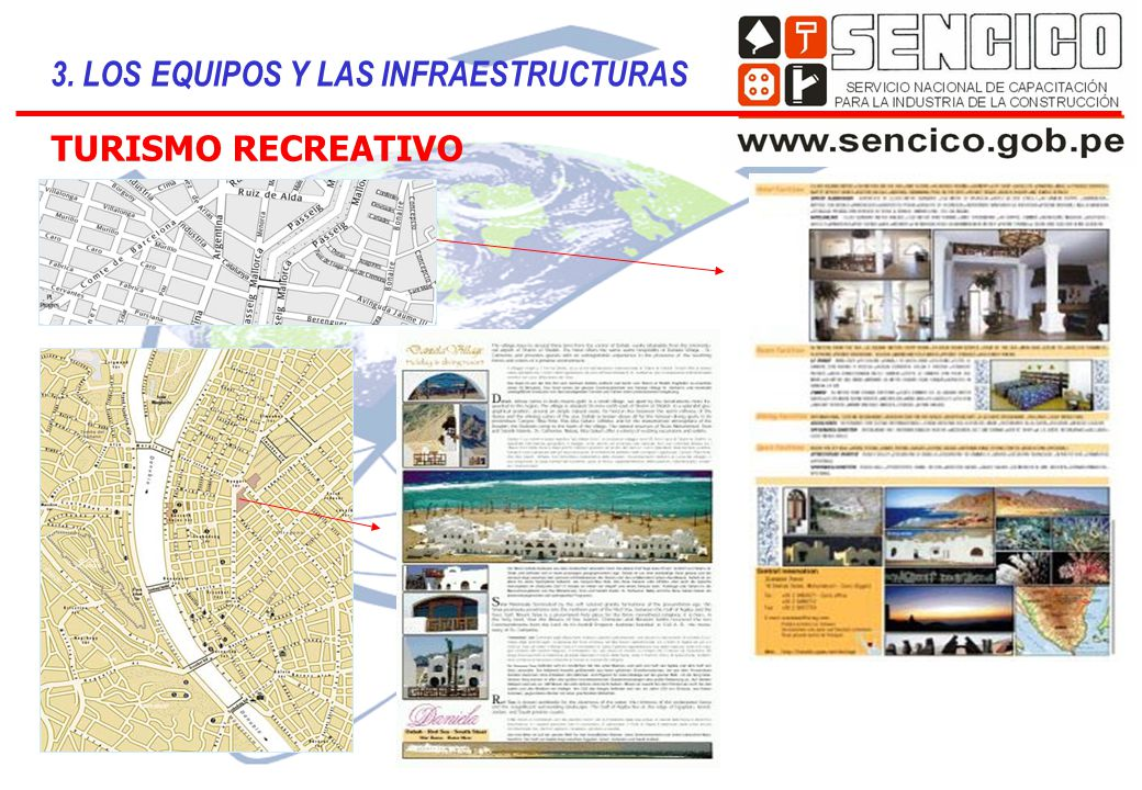 TURISMO RECREATIVO 3. LOS EQUIPOS Y LAS INFRAESTRUCTURAS