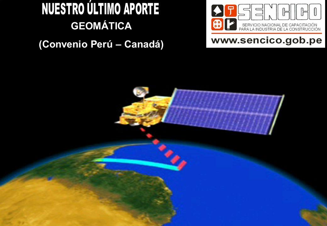GEOMÁTICA (Convenio Perú – Canadá)