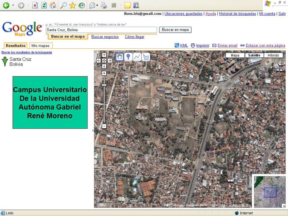 Campus Universitario De la Universidad Autónoma Gabriel René Moreno