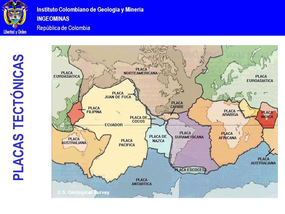 Instituto Colombiano de Geología y Minería INGEOMINAS República de Colombia U.S.