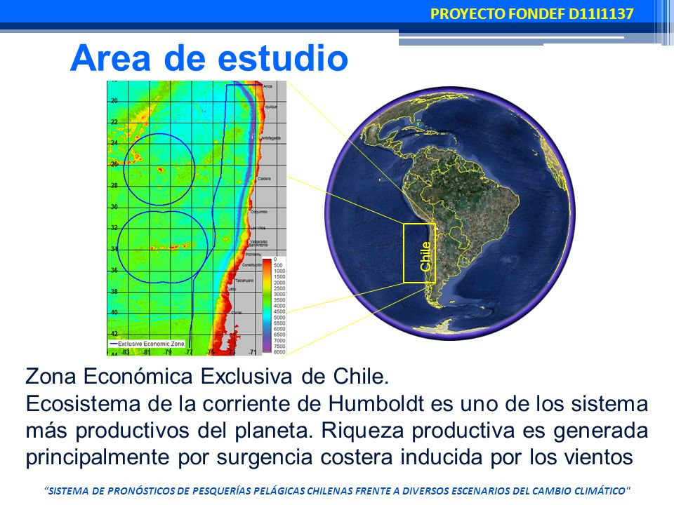 Chile Zona Económica Exclusiva de Chile.