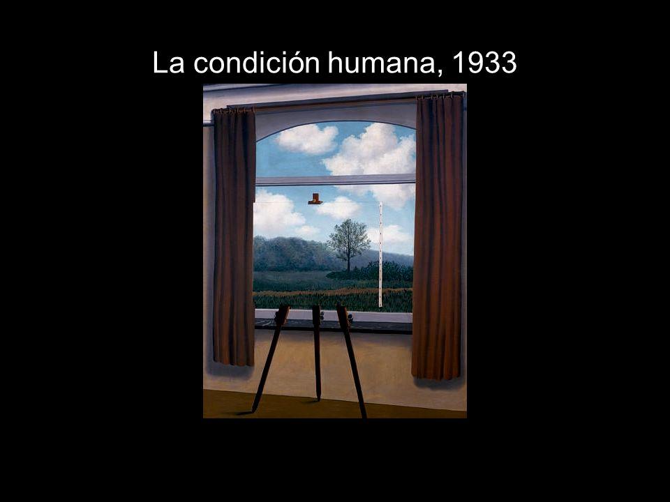 La condición humana, 1933