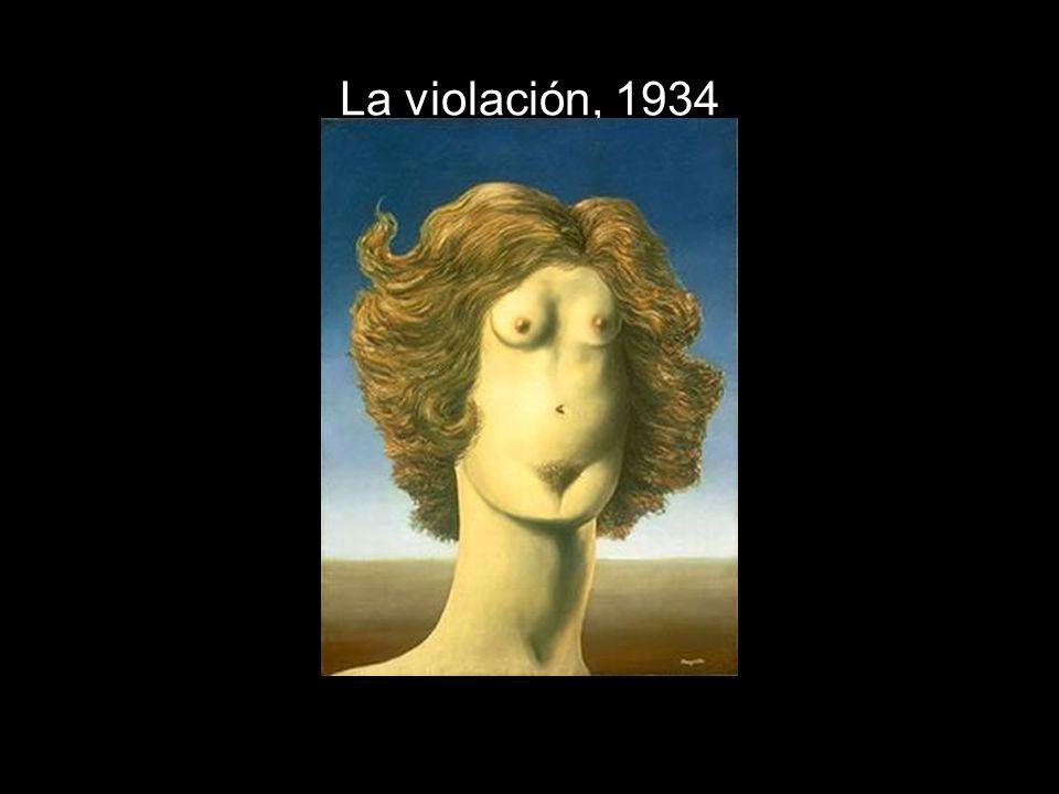 La violación, 1934