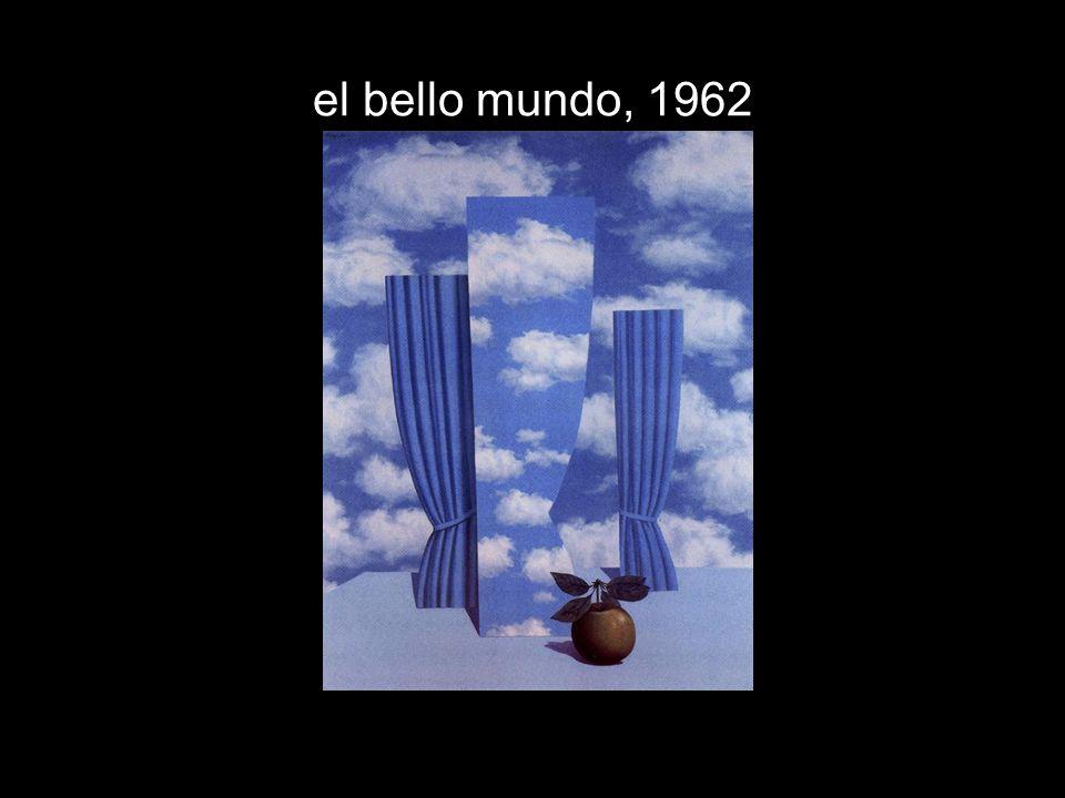 el bello mundo, 1962