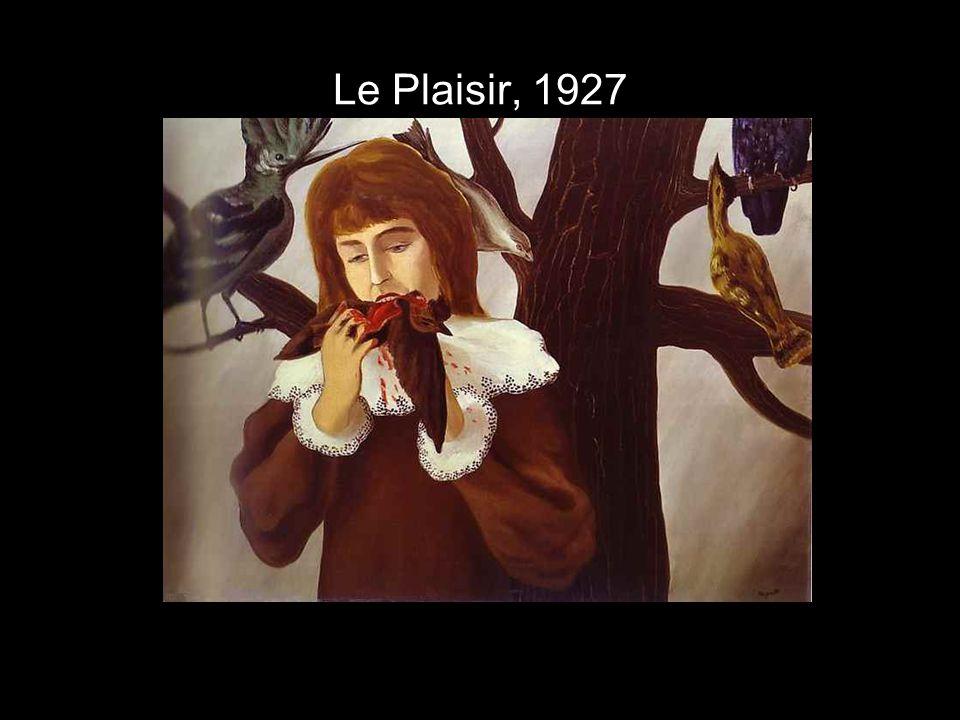 Le Plaisir, 1927