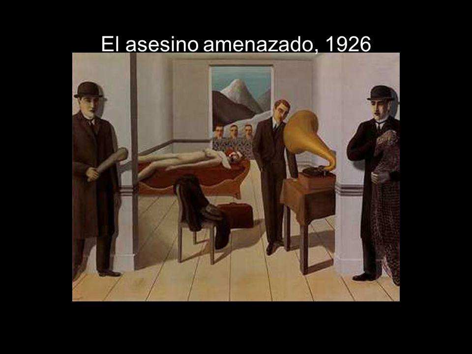 El asesino amenazado, 1926
