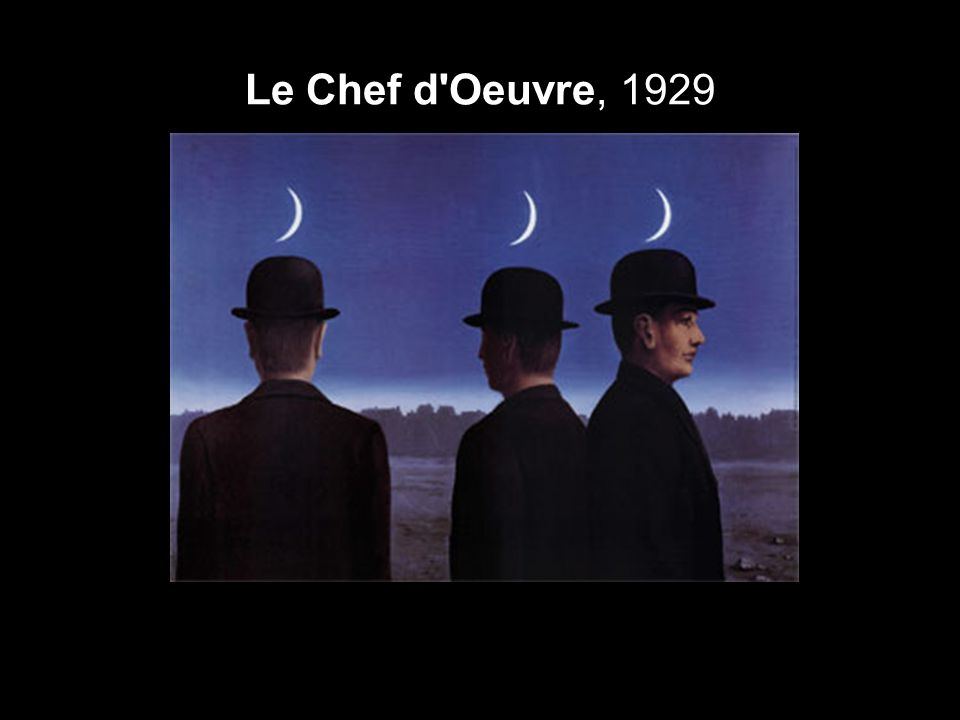 Le Chef d Oeuvre, 1929