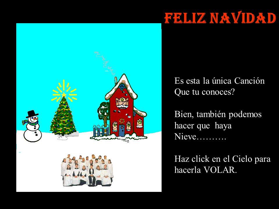 Haz click sobre el Muñeco de Nieve para colocarle su SOMBRERO……. Feliz Navidad