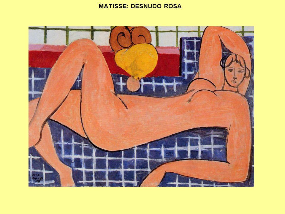 MATISSE: DESNUDO ROSA