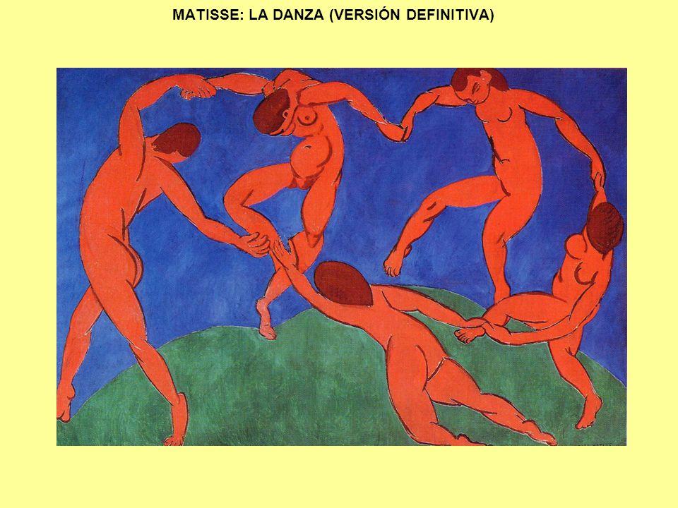MATISSE: LA DANZA (VERSIÓN DEFINITIVA)