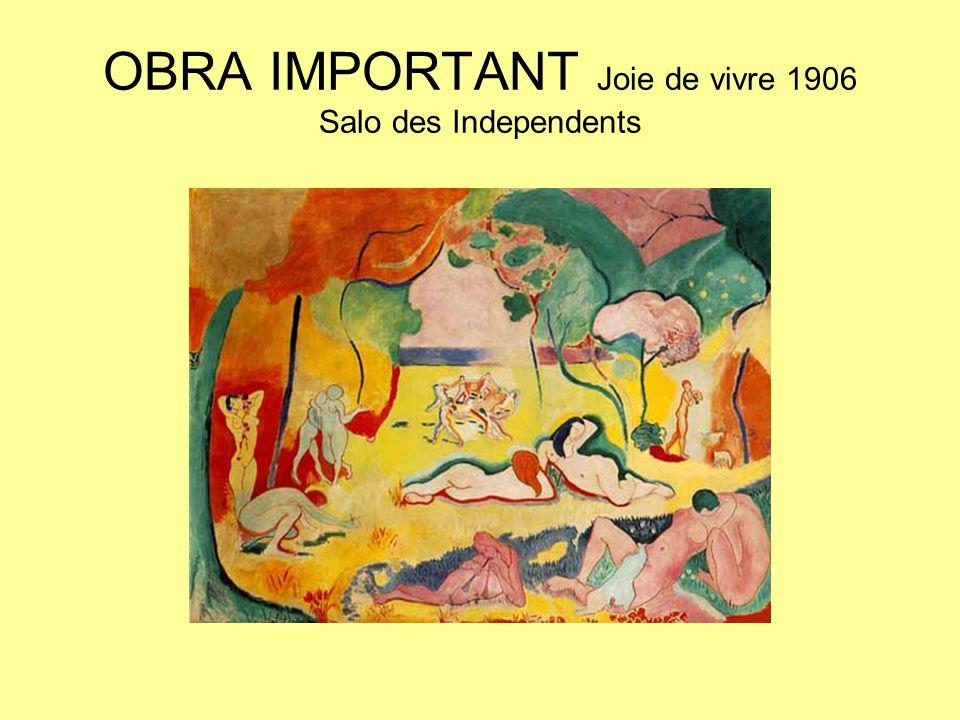 OBRA IMPORTANT Joie de vivre 1906 Salo des Independents