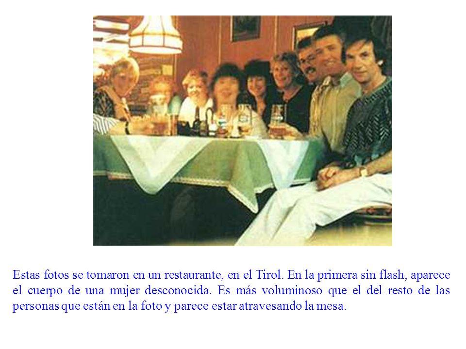 Estas fotos se tomaron en un restaurante, en el Tirol.