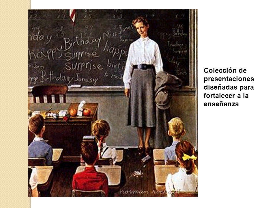 Teacher Resource Colección de presentaciones diseñadas para fortalecer a la enseñanza
