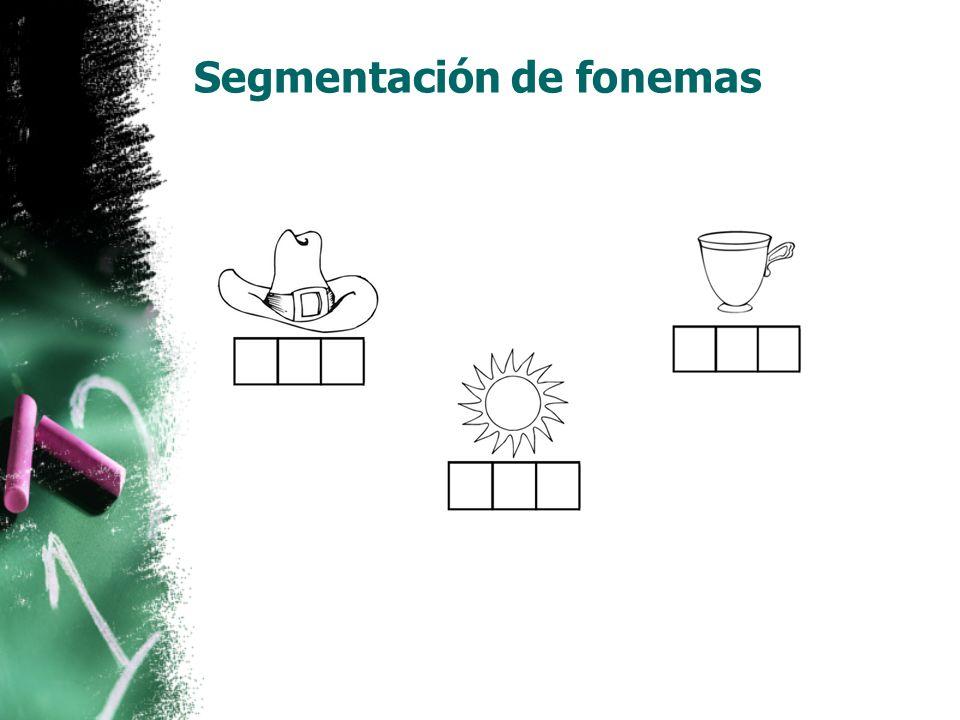 Fonética Se enseñan combinaciones fonéticas desde las mas simples y se van complicando. MOM FLOWERS