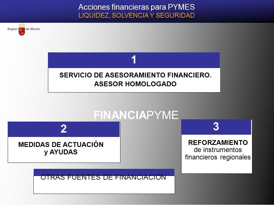 FINANCIAPYME SERVICIO DE ASESORAMIENTO FINANCIERO.