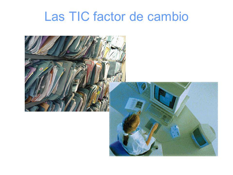 Las TIC factor de cambio