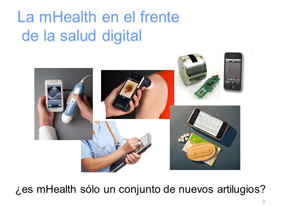 La mHealth en el frente de la salud digital 9 ¿es mHealth sólo un conjunto de nuevos artilugios