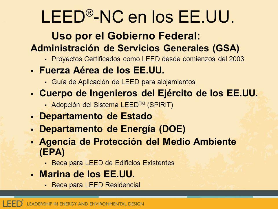 LEED ® -NC en los EE.UU.
