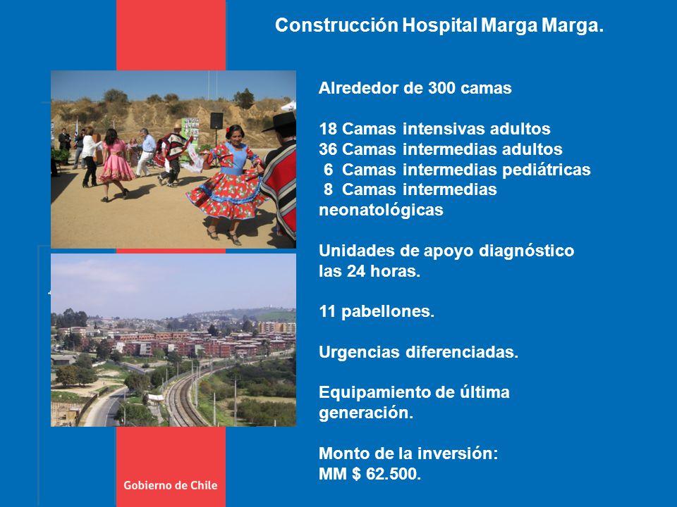 Construcción Hospital Marga Marga.
