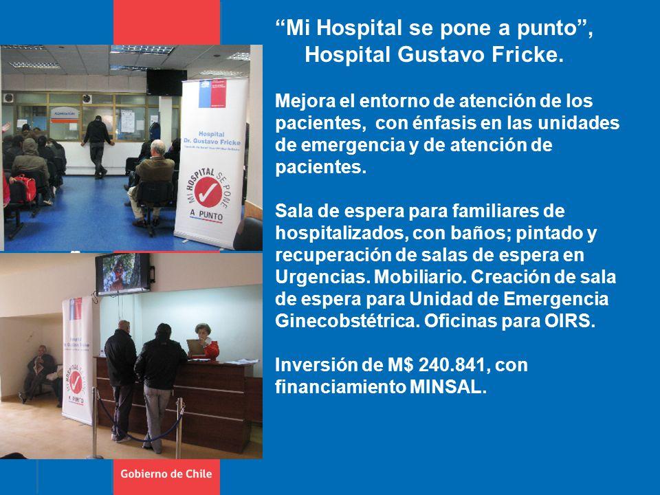 Mi Hospital se pone a punto , Hospital Gustavo Fricke.