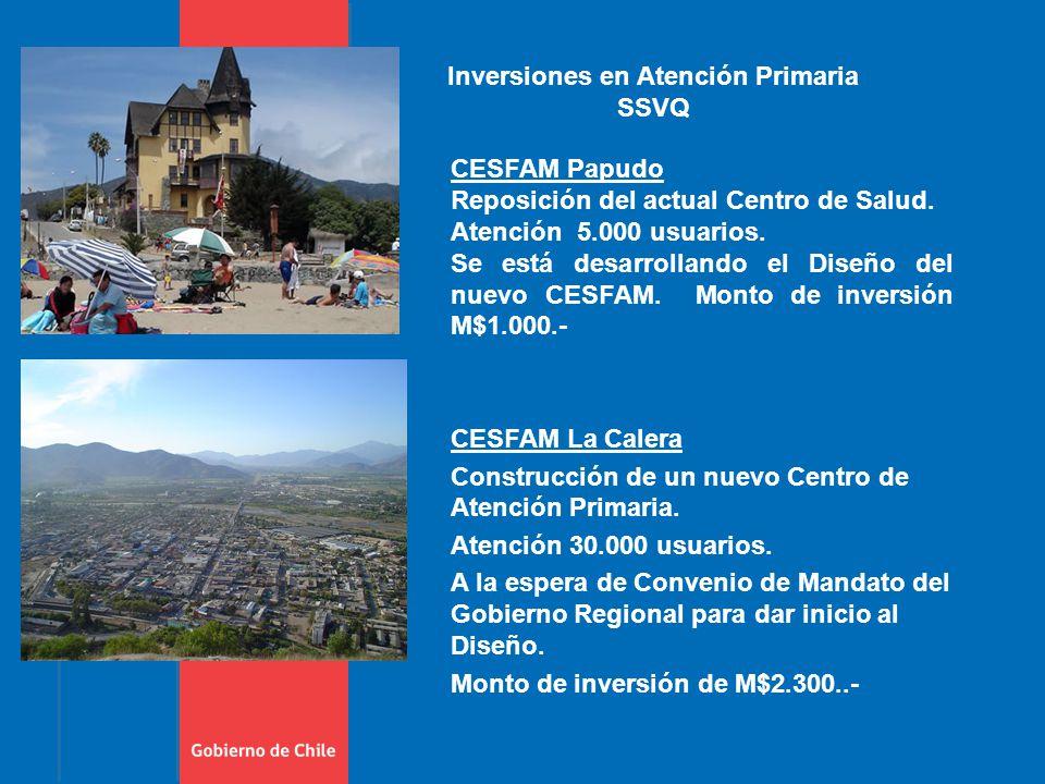 CESFAM Papudo Reposición del actual Centro de Salud.