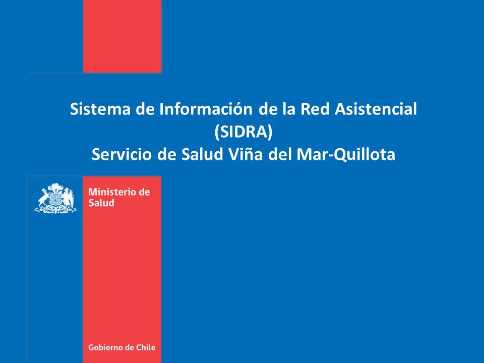 Sistema de Información de la Red Asistencial (SIDRA) Servicio de Salud Viña del Mar-Quillota