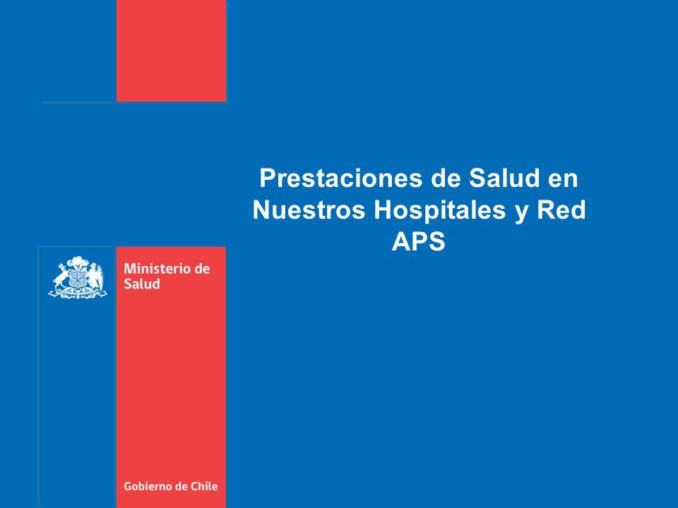 Prestaciones de Salud en Nuestros Hospitales y Red APS