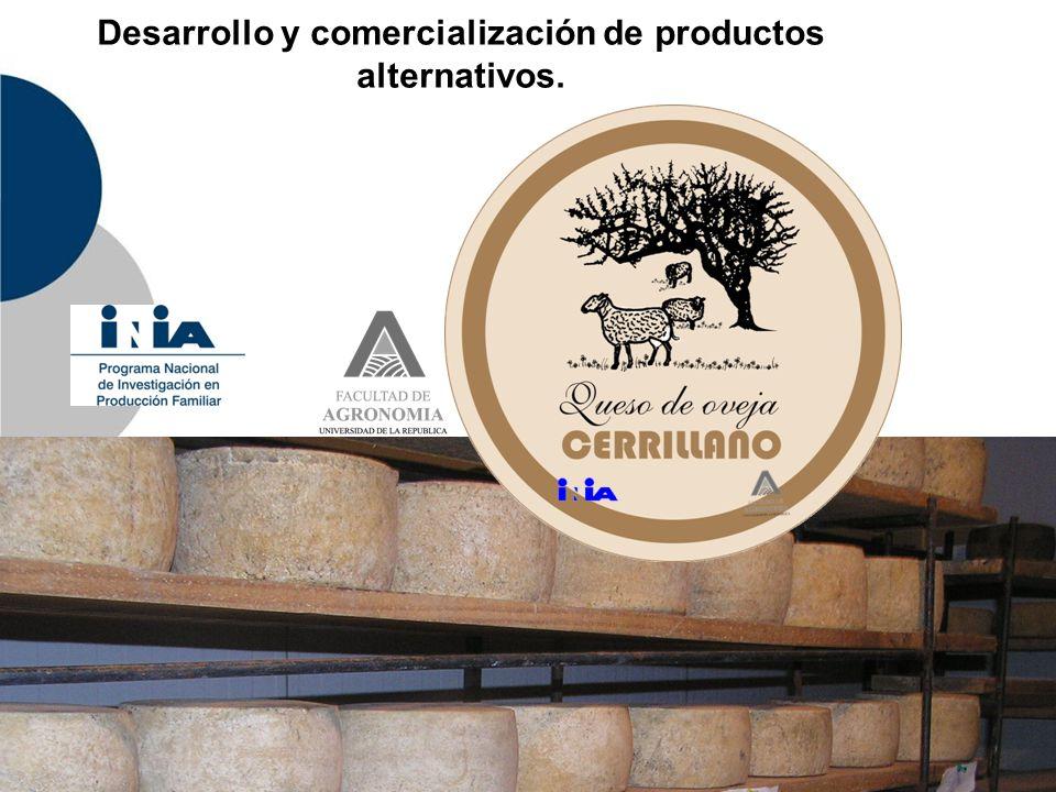 Desarrollo y comercialización de productos alternativos.