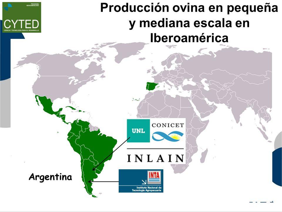 Producción ovina en pequeña y mediana escala en Iberoamérica Argentina