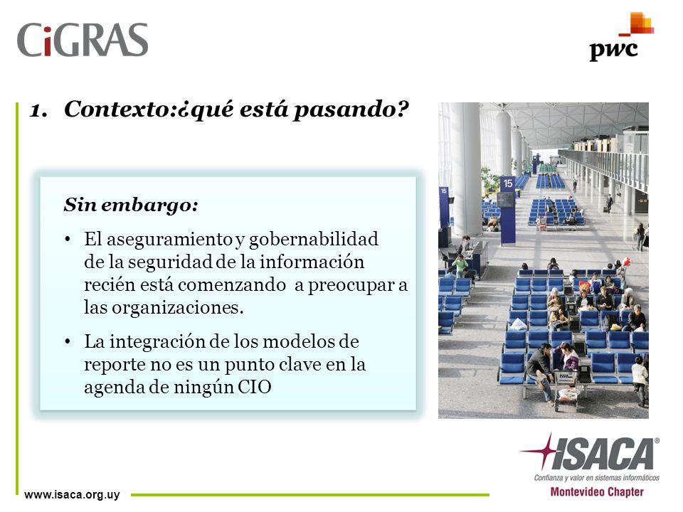 www.isaca.org.uy 1.Contexto:¿qué está pasando.