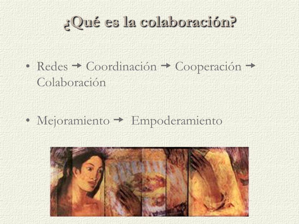 ¿Qué es la colaboración.