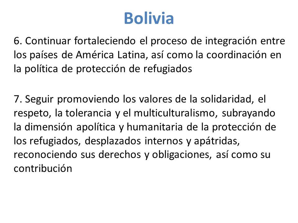 Bolivia 6.