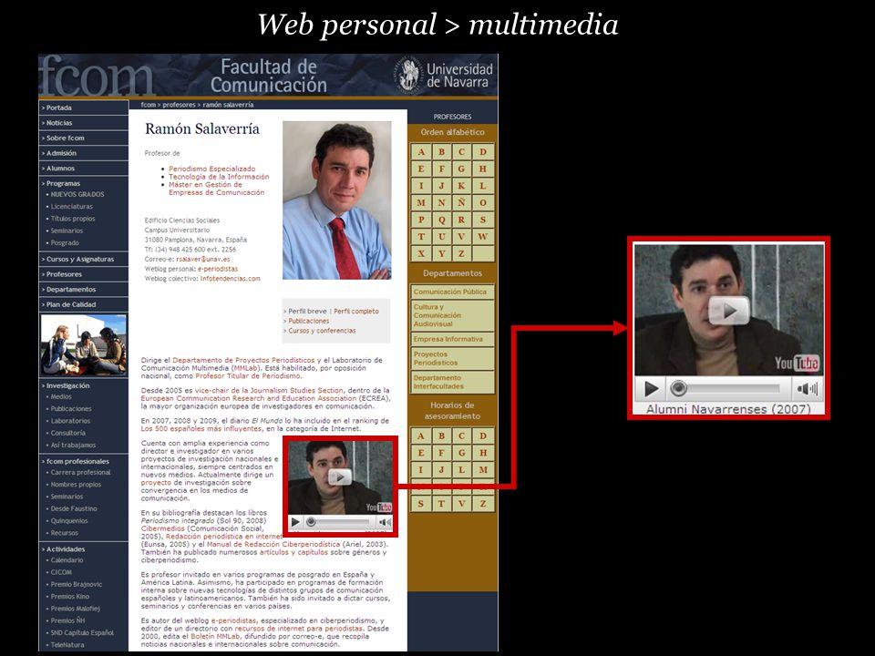 Web personal > multimedia