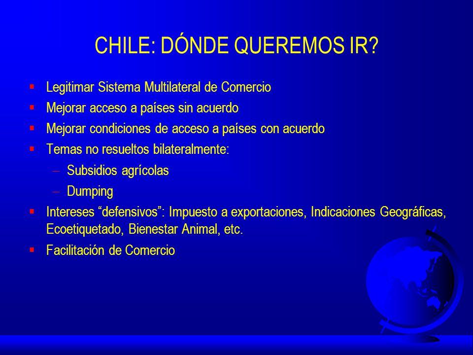 CHILE: DÓNDE QUEREMOS IR.