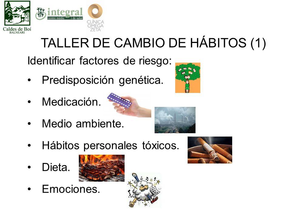 Identificar factores de riesgo: Predisposición genética.