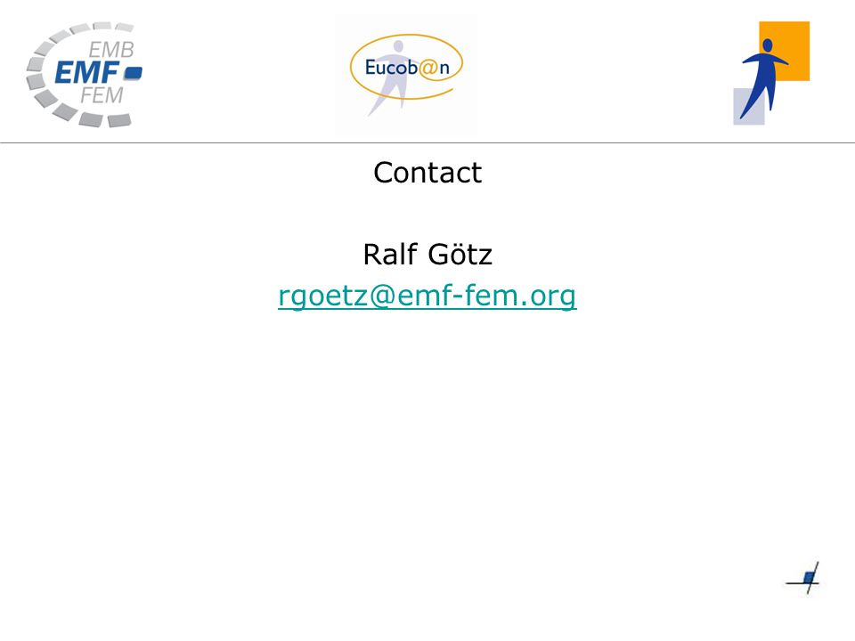 Contact Ralf Götz rgoetz@emf-fem.org