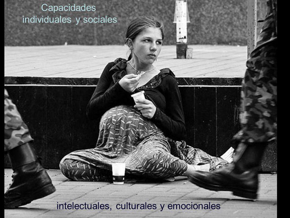 Capacidades individuales y sociales intelectuales, culturales y emocionales