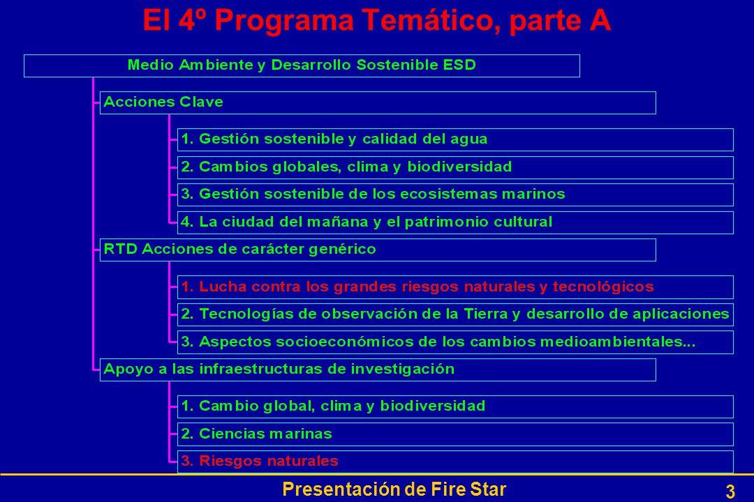 Presentación de Fire Star 3 El 4º Programa Temático, parte A