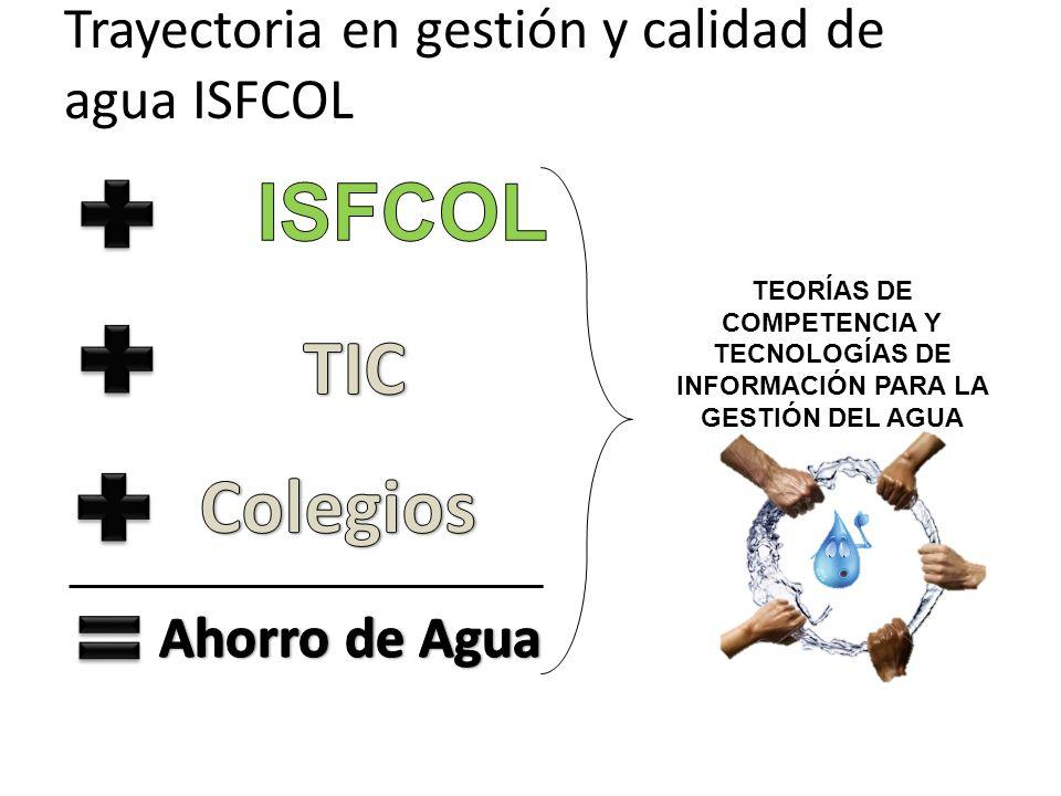 TEORÍAS DE COMPETENCIA Y TECNOLOGÍAS DE INFORMACIÓN PARA LA GESTIÓN DEL AGUA