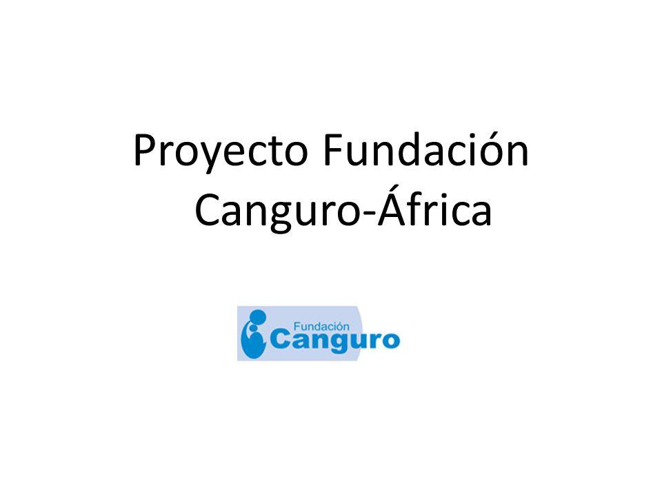 Proyecto Fundación Canguro-África