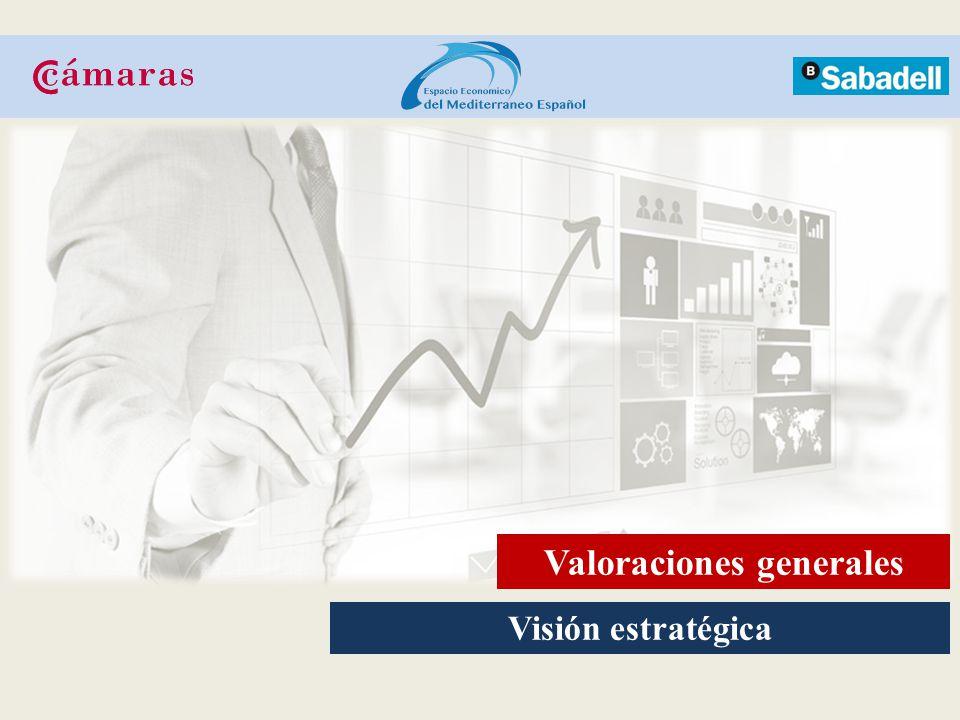 Visión estratégica Valoraciones generales
