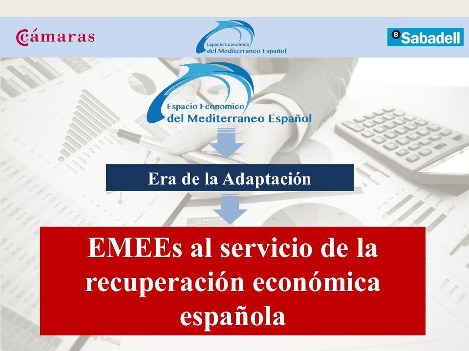 Era de la Adaptación EMEEs al servicio de la recuperación económica española