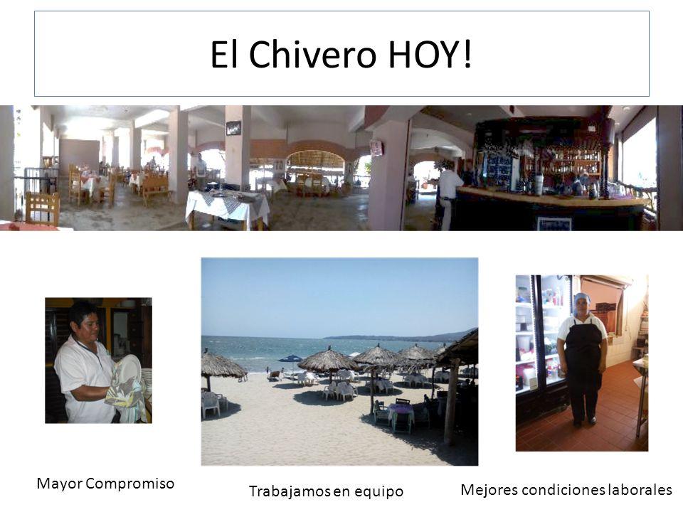 El Chivero HOY! Mayor Compromiso Trabajamos en equipo Mejores condiciones laborales