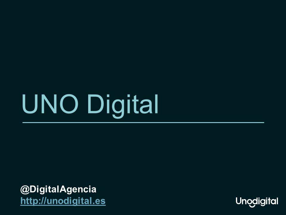 UNO Digital @DigitalAgencia http://unodigital.es