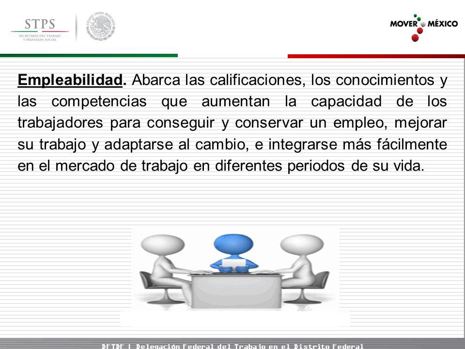 DFTDF | Delegación Federal del Trabajo en el Distrito Federal Empleabilidad.