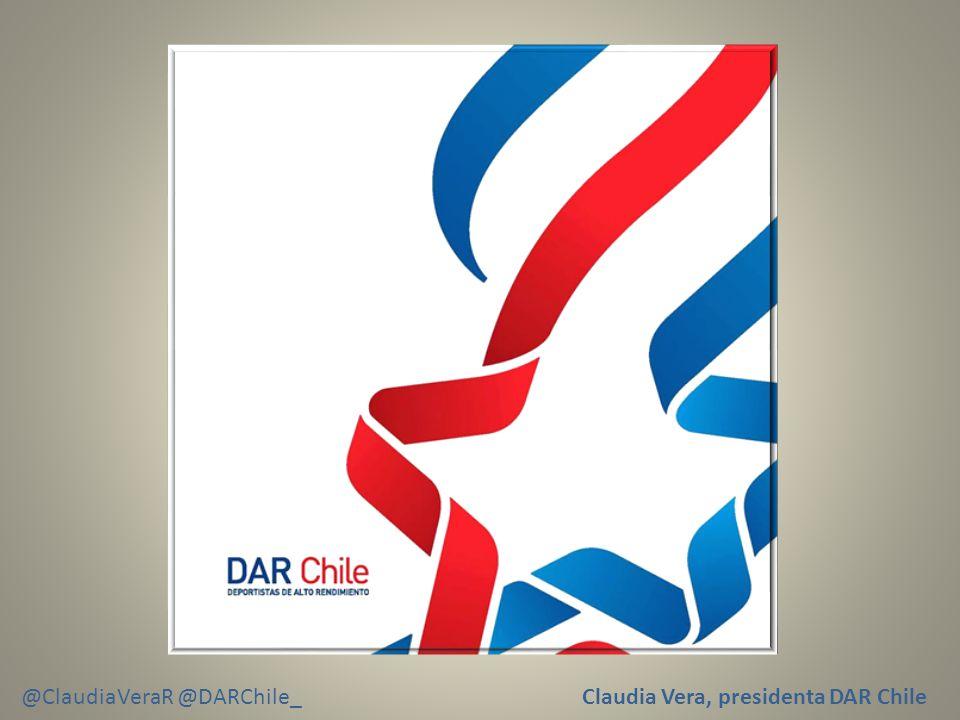 Claudia Vera, presidenta DAR Chile @ClaudiaVeraR @DARChile_