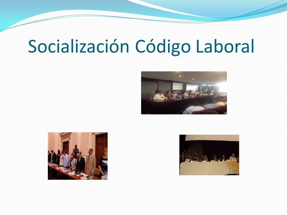 Socialización Código Laboral