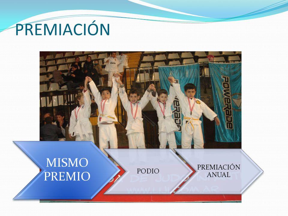 PREMIACIÓN MISMO PREMIO PODIO PREMIACIÓN ANUAL