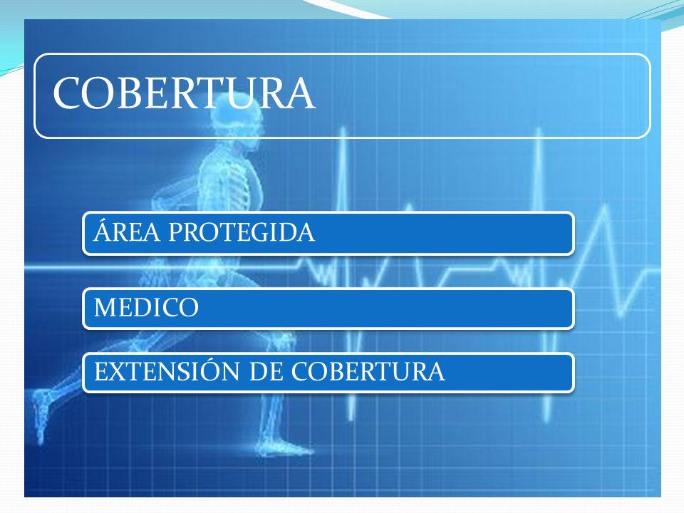 COBERTURA ÁREA PROTEGIDA MEDICO EXTENSIÓN DE COBERTURA
