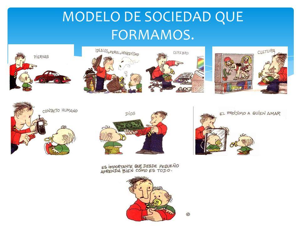 MODELO DE SOCIEDAD QUE FORMAMOS.